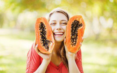 La papaya, aclarador natural para la piel